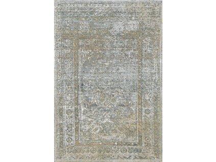 Kusový koberec vlněný Agnella Basic Ariena Světle šedý
