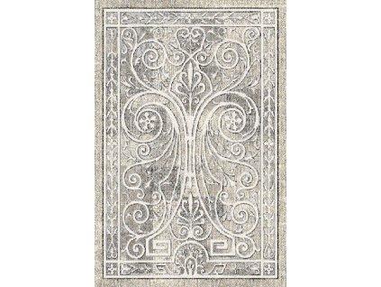 Kusový koberec vlněný Agnella Basic Corsos Krémový