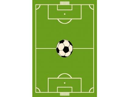 Dětský kusový koberec Agnella Funky - Fotbalové hřiště