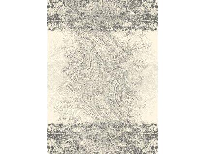 Agnella vlněný koberec Magic Crotone Popelavý