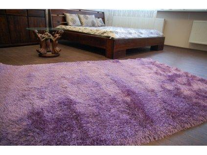 Koberec LOVE SHAGGY 93600 lila