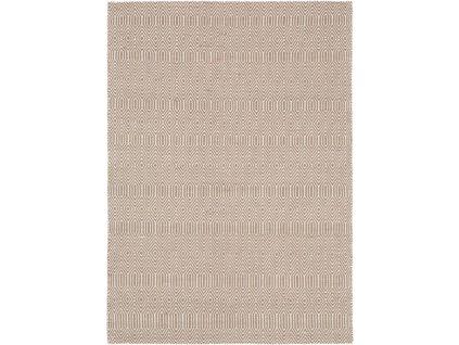 Moderní kusový koberec Sloan Taupe