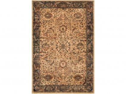 Kusový koberec vlněný Dywilan Omega Super 2433 Mandi Smaragdový