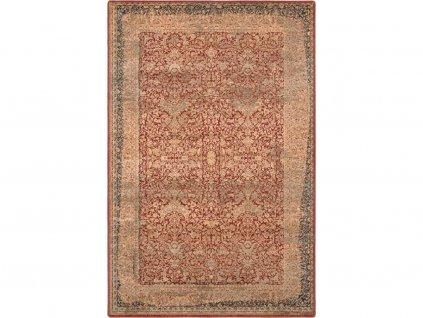 Kusový koberec vlněný Dywilan Omega Super 2431 Sadi Red Červený