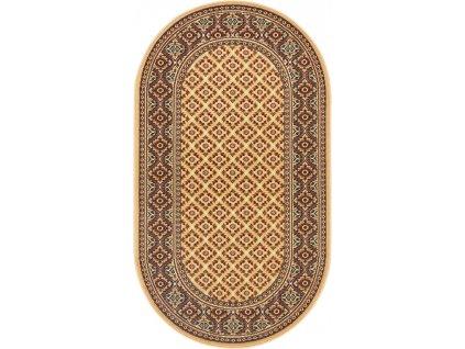 Oválný koberec Agnella Standard Apium Béžový