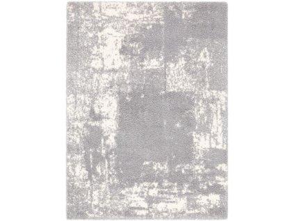 Kusový shaggy koberec Agnella Yoki Emi Světle šedý