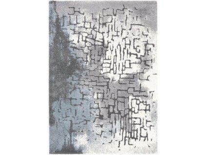 Kusový shaggy koberec Agnella Yoki Goka Šedý