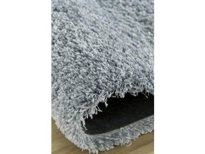 Kusový shaggy koberec Home hill 80 modrý
