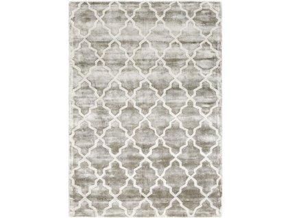 Moderní kusový koberec Leon Grey šedý