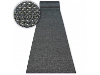 Běhoun Sisal Floorlux 20433 černý