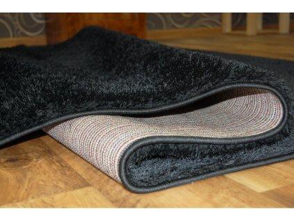 Kusový koberec Shaggy VERONA černý