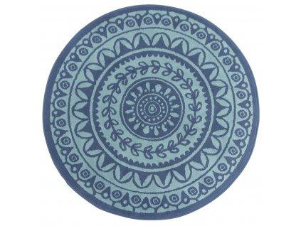 Kulatý koberec LUNA 503786/94955 modrý