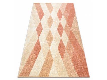 Moderní kusový koberec FEEL 5674/17911 béžový / terakota