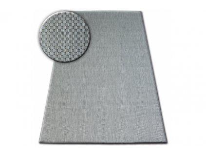 Koberec SISAL FLAT 48663/037 stříbrný
