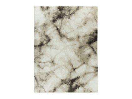 Moderní kusový koberec FEEL 2270B Mramor béžový / bílý