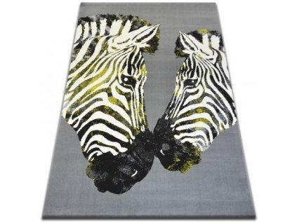 Kusový koberec BCF FLASH 33309/170 Zebra