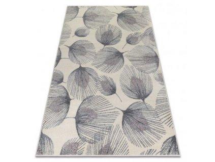 Kusový koberec HEOS 78545 Peří krémový / růžový