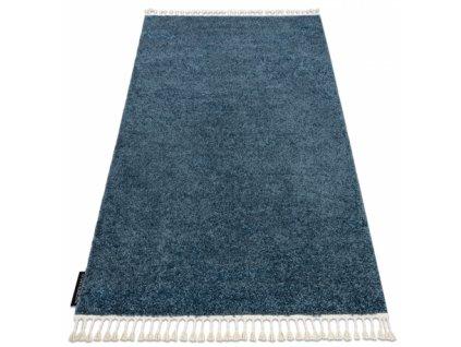 Moderní kusový koberec BERBER 9000 modrý