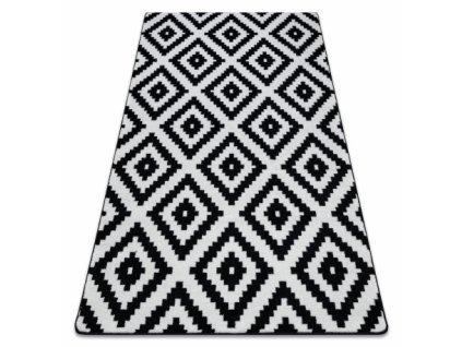 Koberec SKETCH - F998 bílý černý