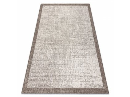 Kusový koberec Sisal  FLOORLUX 20401 šampaň / béžový