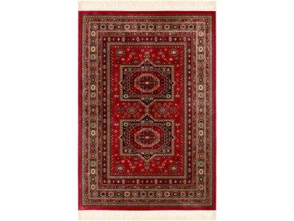 Klasický kusový koberec Ragotex Beluchi 61403 1616 červený