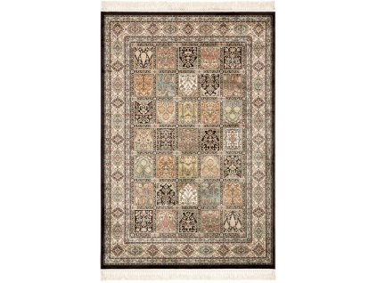 Klasický kusový koberec Ragotex Beluchi 88034 3262 krémový / černý