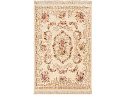 Klasický kusový koberec Ragotex Beluchi 88106 6262 Květiny béžový