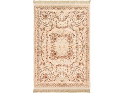 Klasický kusový koberec Ragotex Beluchi 88259 6262 Květy béžový
