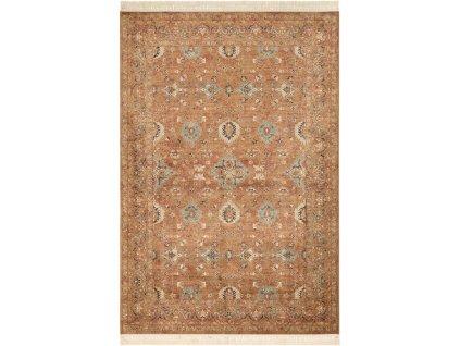 Klasický kusový koberec Ragotex Beluchi 88438 8282 béžový / hnědý