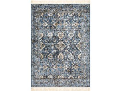 Klasický kusový koberec Ragotex Beluchi 88438 8989 modrý