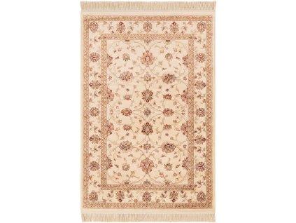 Klasický kusový koberec Ragotex Beluchi 88645 6262 Květy béžový