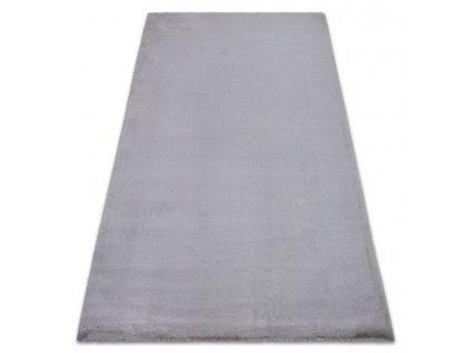 Kusový koberec BUNNY stříbrný