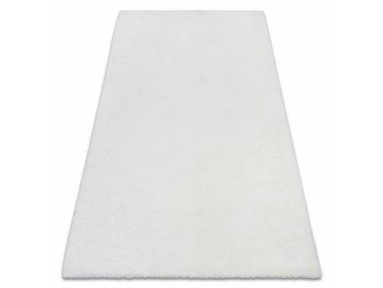 Kusový koberec shaggy BUNNY bílý