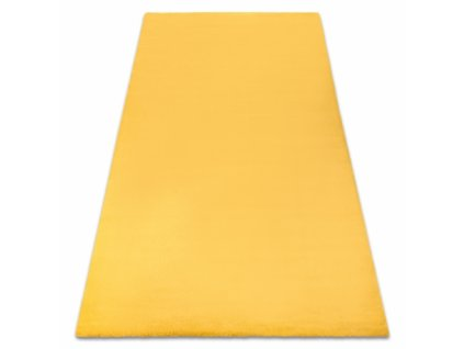 Kusový koberec BUNNY žlutý / zlatý