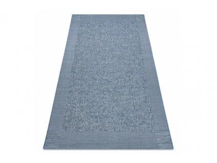 Kusový koberec Sisal FORT 36213355 modrý