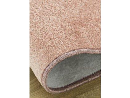 Kusový koberec Dynasty 14 růžový