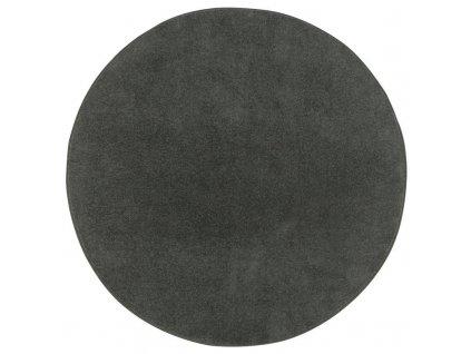 Kulatý koberec Dynasty 78 černý