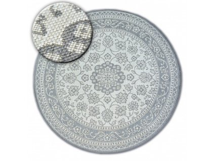 Kulatý koberec Sisal FLAT 48691/637