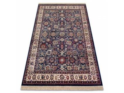 Klasický kusový koberec WINDSOR 22991 modrý / slonová kost