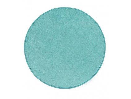 Kulatý koberec Carousel 81 modrý