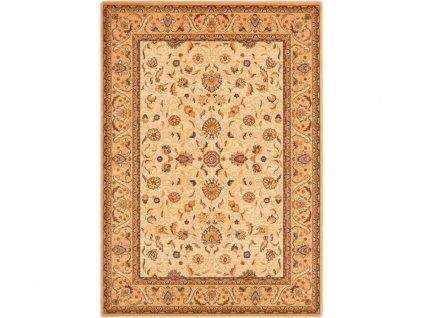 Kusový koberec vlněný Dywilan Omega Aries Krémový