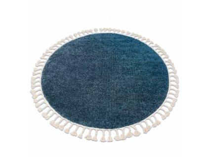 Kulatý koberec BERBER 9000 modrý