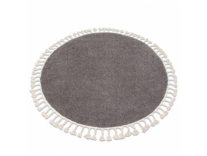 Kulatý koberec BERBER 9000 hnědý