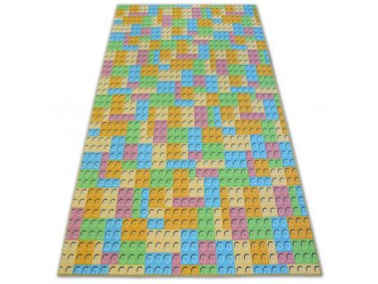 Kusový dětský koberec LEGO