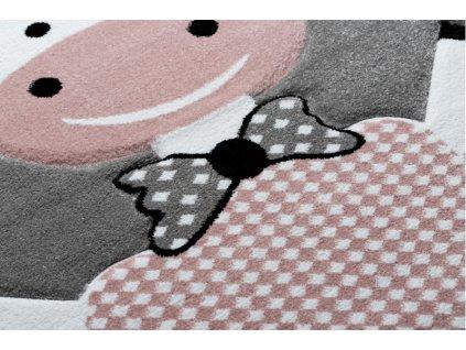 Dětský kusový koberec PETIT Ovečka šedý