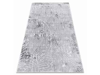 Moderní kusový koberec MEFE 8725 šedý
