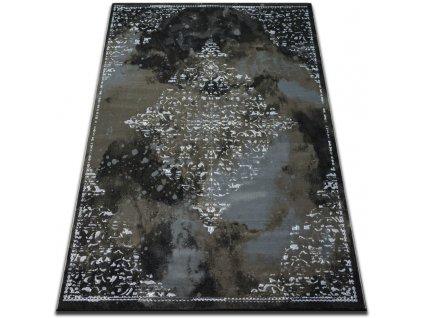 Kusový koberec Vogue 478 černý / hnědý