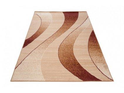 Moderní kusový koberec K857A CHEAP Světle béžový