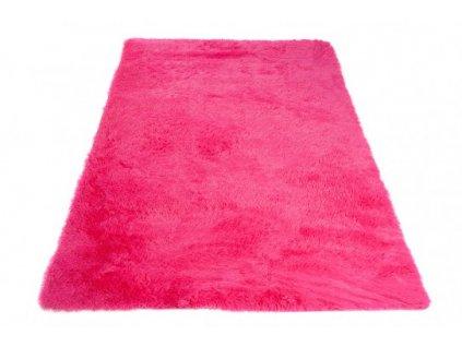Moderní kusový koberec SILK fushia