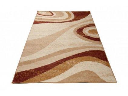 Kusový koberec D317B CHEAP Krémový